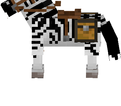 Reskin any horse breed into Zebras!