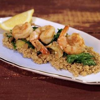 Quinoa and Shrimp Medley.