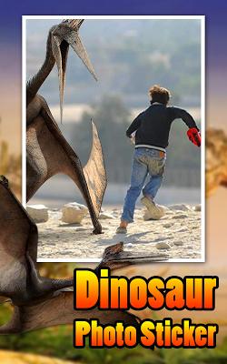 Dinosaur Photo Sticker - screenshot