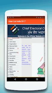 Voter List 2017 Online - India - náhled