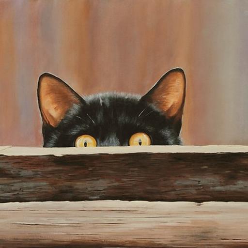 Trouver les chats cachés LOGO-APP點子