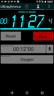Ultrachron Stopwatch Lite- screenshot thumbnail