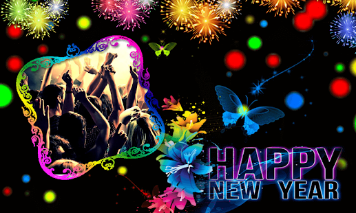Happy New Year 2018 Wallpaper Maker - náhled