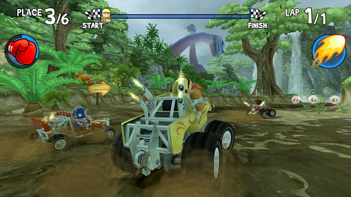 Beach Buggy Racing - screenshot