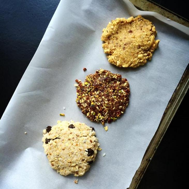 Jumbo Raw/GF/Vegan Cookies, 3 Ways!