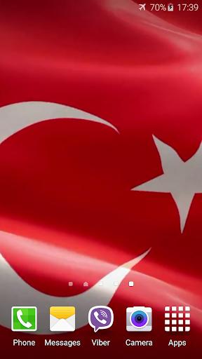turkey flag live wallpaper apk