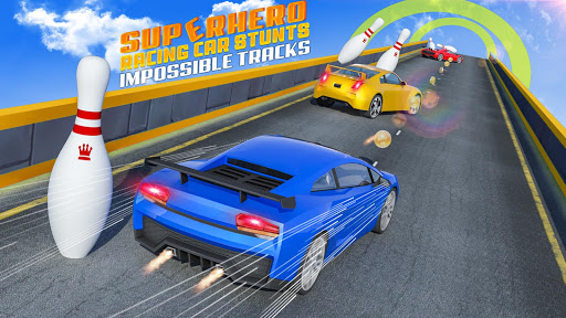 Superhero GT Racing Car Stunts: New Car Games 2020 apktram screenshots 13