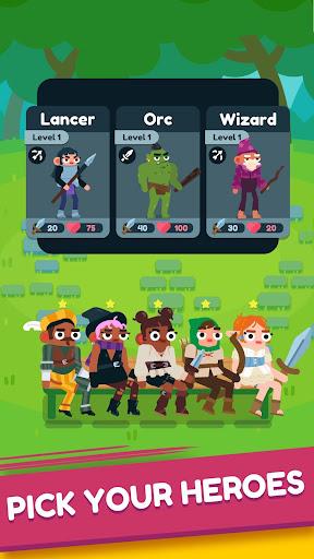 Code Triche Heroes Battle: Auto-battler RPG apk mod screenshots 1