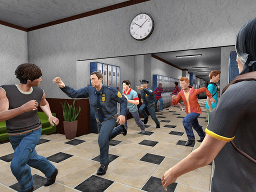 High School Gangster Escape