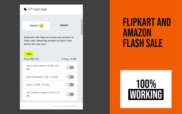 Flash Sale Extension