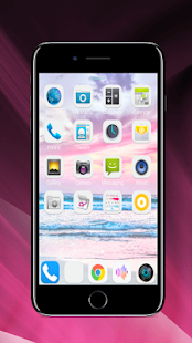 Launcher Theme for iPhone x - náhled