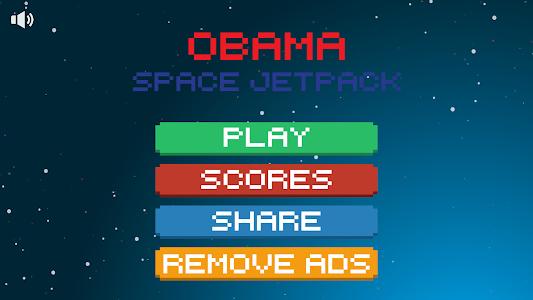 Obama Space Jetpack screenshot 0