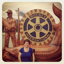 Photo: Hope, BC downtown, Rotary International wood carved fishing theme #intercer #hope #britishcolumbia #canada #brown #statue #travel #relax #street #town #city #man #visit #fish #salmon #rotary #woman #water #river - via Instagram, http://instagram.com/p/dFTLAnpfrF/