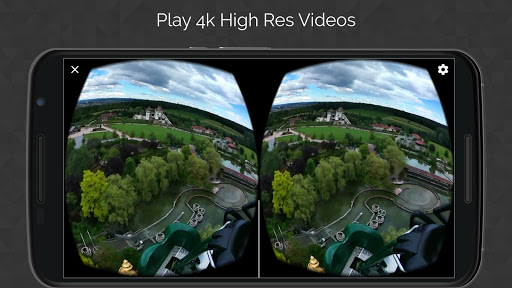VR Video Player game for Android screenshot