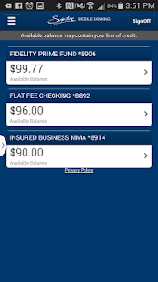 Signature Mobile Banking- screenshot thumbnail