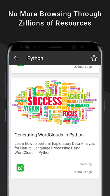 Learn Data Science- Python Coding, Reddit Discuss – (Android