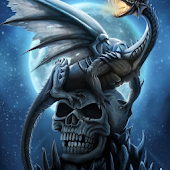 skulls and dragons wallpapers