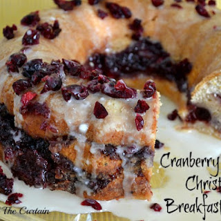 Cranberry Orange Christmas Breakfast Bread