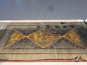 Photo: egy csodaszép szőnyeg alakulóban
