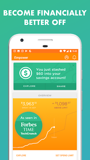 Empower - Banking & Budgeting screenshot for Android