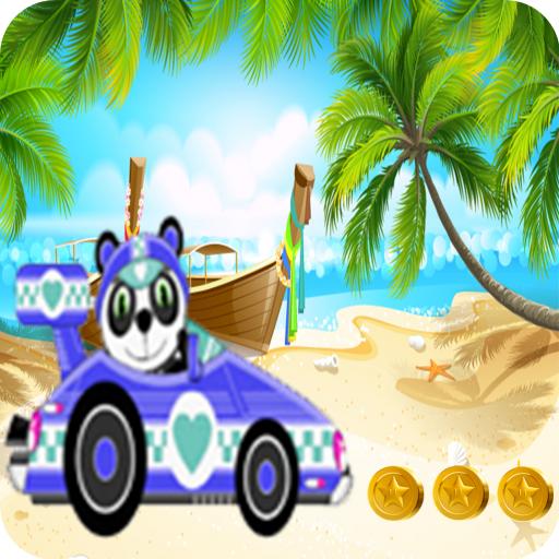 Panda Beach Race Turbo Toy Car