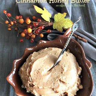 Cinnamon Honey Butter.