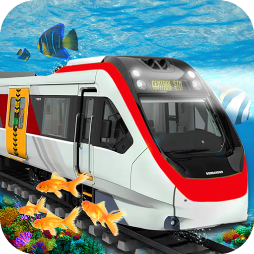 Underwater Train Simulator 3d - Free Game