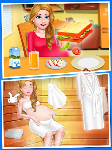 Mommy & newborn baby shower - Babysitter Game 21.0 screenshots 5