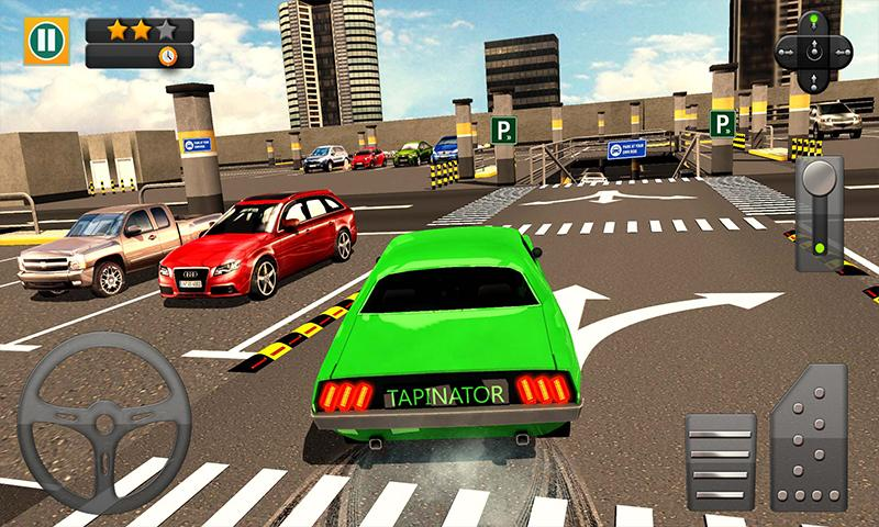 #4. Multi-storey Car Parking 3D (Android)