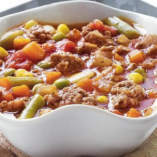 Easy Vegetable-Beef Soup