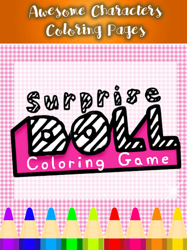 LOL Surprise DOLL Coloring Book and Game 1 screenshots 4