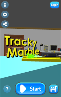 Tracky Marble screenshot