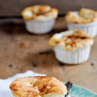 Mini Peach Cobblers.