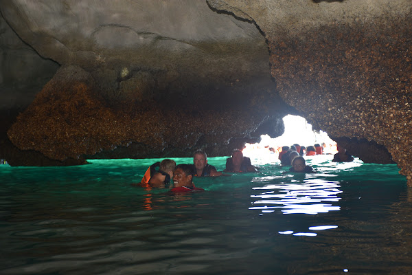 Swim through the Emerald Cave on Koh Mook