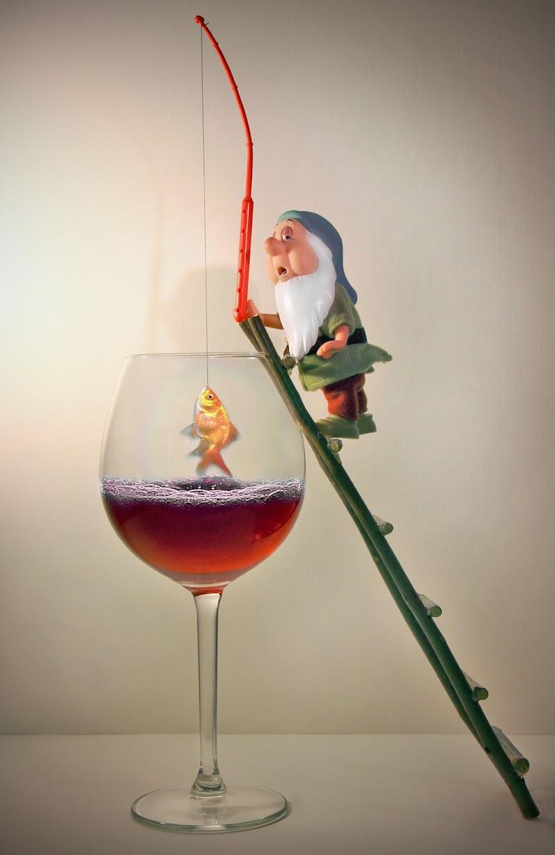 A pesca nel vin rosso !!!! di Marcello Zavalloni