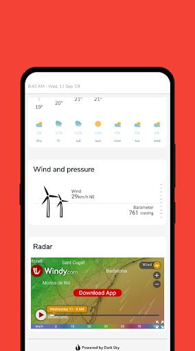Clean Weather 2.5.17 screenshots 4
