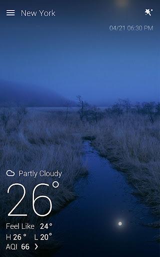 GO Weather Forecast & Widgets screenshot 9