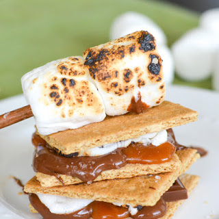 Indoor Salted Caramel S'mores