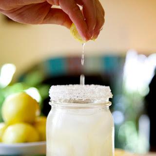Grilled Jalapeño Lemon Margarita