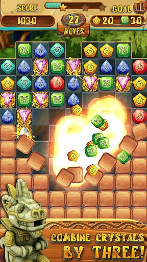 Match 3 Jewels: Aztec Gold  screenshots 2
