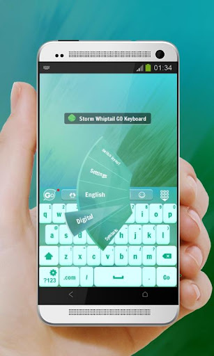無料个人化Appの嵐です:whiptail GO Keyboard|記事Game