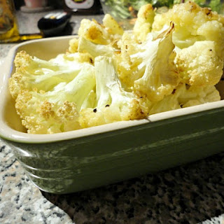 Easy Oven Roasted Cauliflower