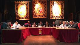 Pleno celebrado en Albox a comienzos del pasado año.