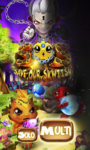 Save Our Skwiish: Charm Heroes A Fun Match 3 Quest  captures d'écran 2
