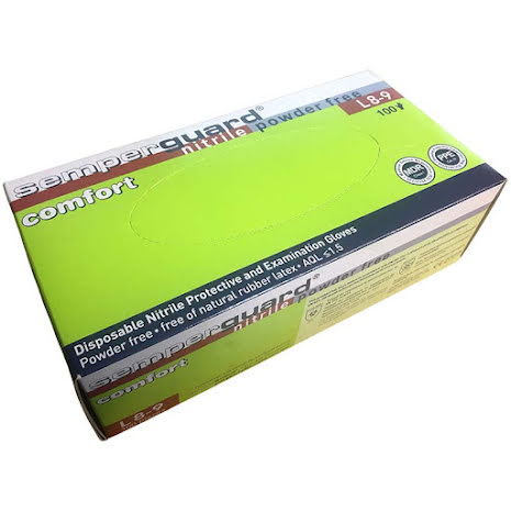 Nitrilhandske Semperguard Comfort NBR PF 100-pack