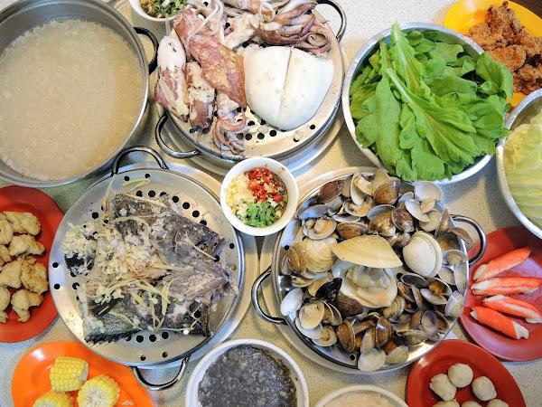 二月牌沙茶爐‧吃海鮮不用大老遠跑漁港,尚青的原味高湯沙茶爐海鮮塔,咖哩湯底全新上市