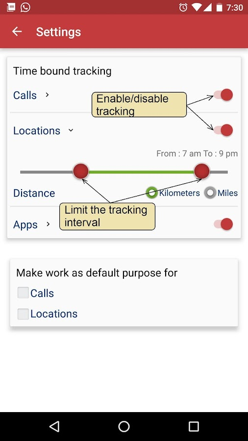 Auto Time Tracker - Sapience- screenshot