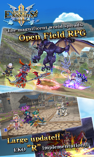 RPG Elemental Knights R (MMO) 4.3.6 screenshots 1