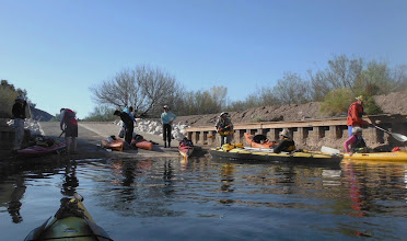Photo: Setting out from Picacho lower dock. (D Miller)