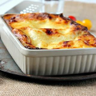 Pork, Spinach and Mushroom Lasagne